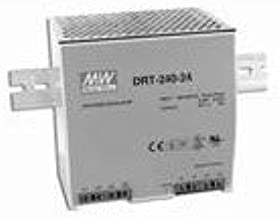 Mean Well DRT-240-24 DIN Rail Power Supply 24Vout 10A 240W, Enclosed, Adjustable Output, Free air, Input: 340~550 VAC (3PH), 480~780 VDC