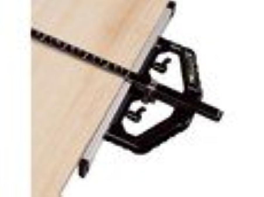 肩をすくめる同盟大混乱シンワ測定 丸ノコガイド定規TスライドII 60cm併用目盛 突き当て可動式