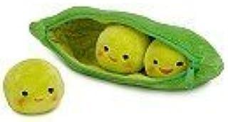 Disney Toy Story 3 Peas-in-a-Pod Plush Toy,Green Plush,Zipper Closure Pod,NWT