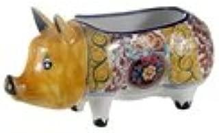 Talavera Pig Planter - 9.25