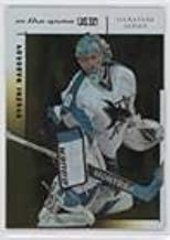 Evgeni Nabokov #/50 (Hockey Card) 2003-04 In the Game-Used Signature Series - [Base] - Gold #88
