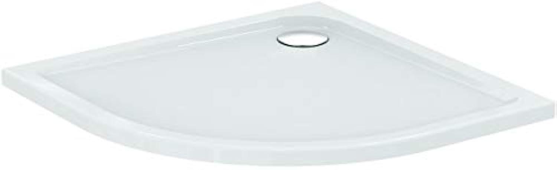 Ideal Standard Viertelkreis-brausewanne Connect air, 900x900x45mm, Wei, E105101