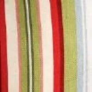 Longaberger Medium Oval Gathering Basket Liner Sunflower Stripe Fabric Over Edge Style