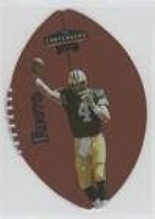 brett favre leather football card