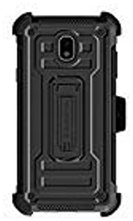 Ghostek Iron Armor2 Military Grade Case with Holster Belt Clip Designed for Samsung J7/ J7- Refine / J7- Star/ J737 (Black)
