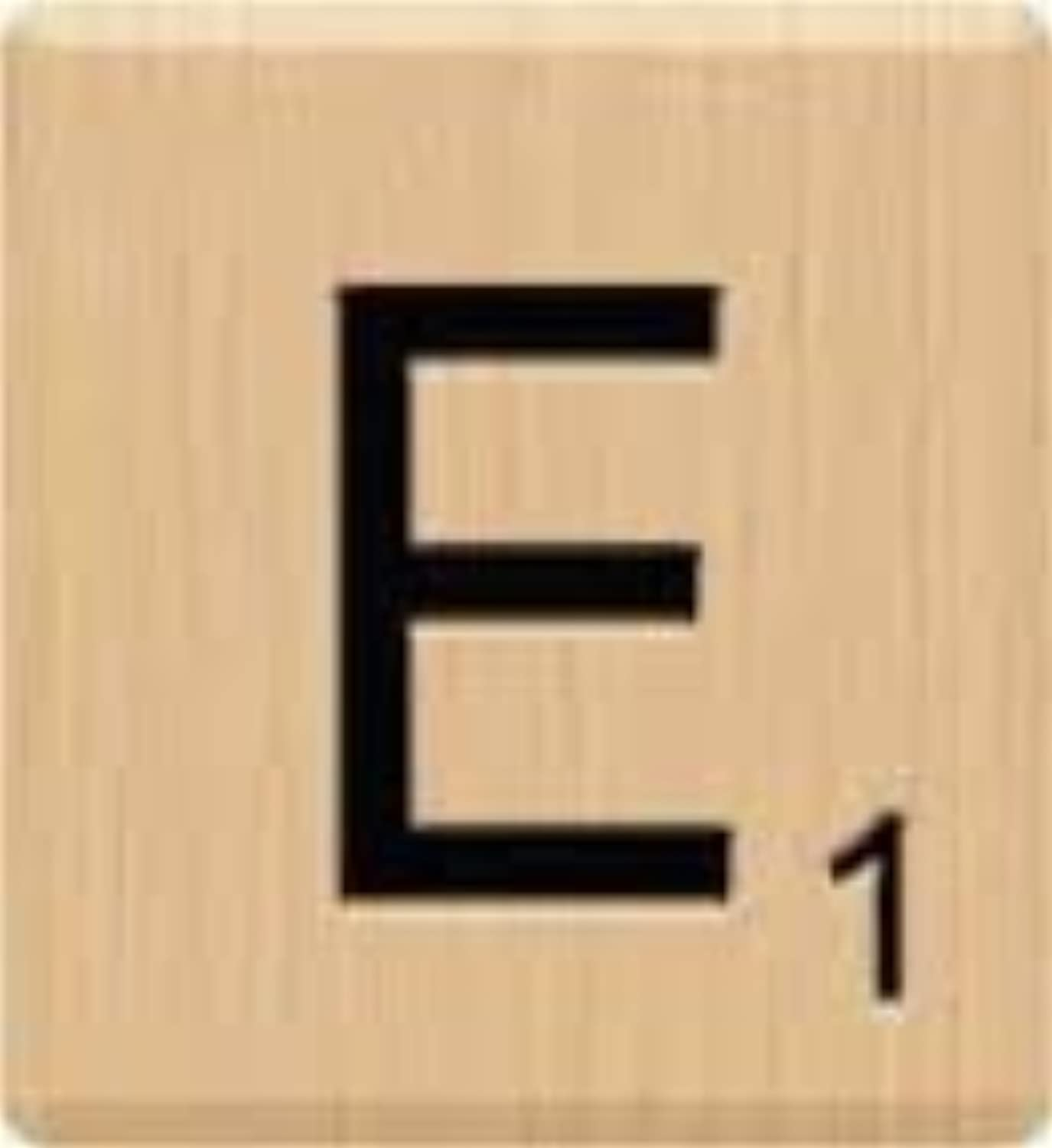 (10) BEAUTIFUL Scrabble Letter E Tiles, Scrabble, Crafts, Scrabble Game Piece E, 10 Letter E, Hardwood, Individual Scrabble Tiles, A to Z In Stock