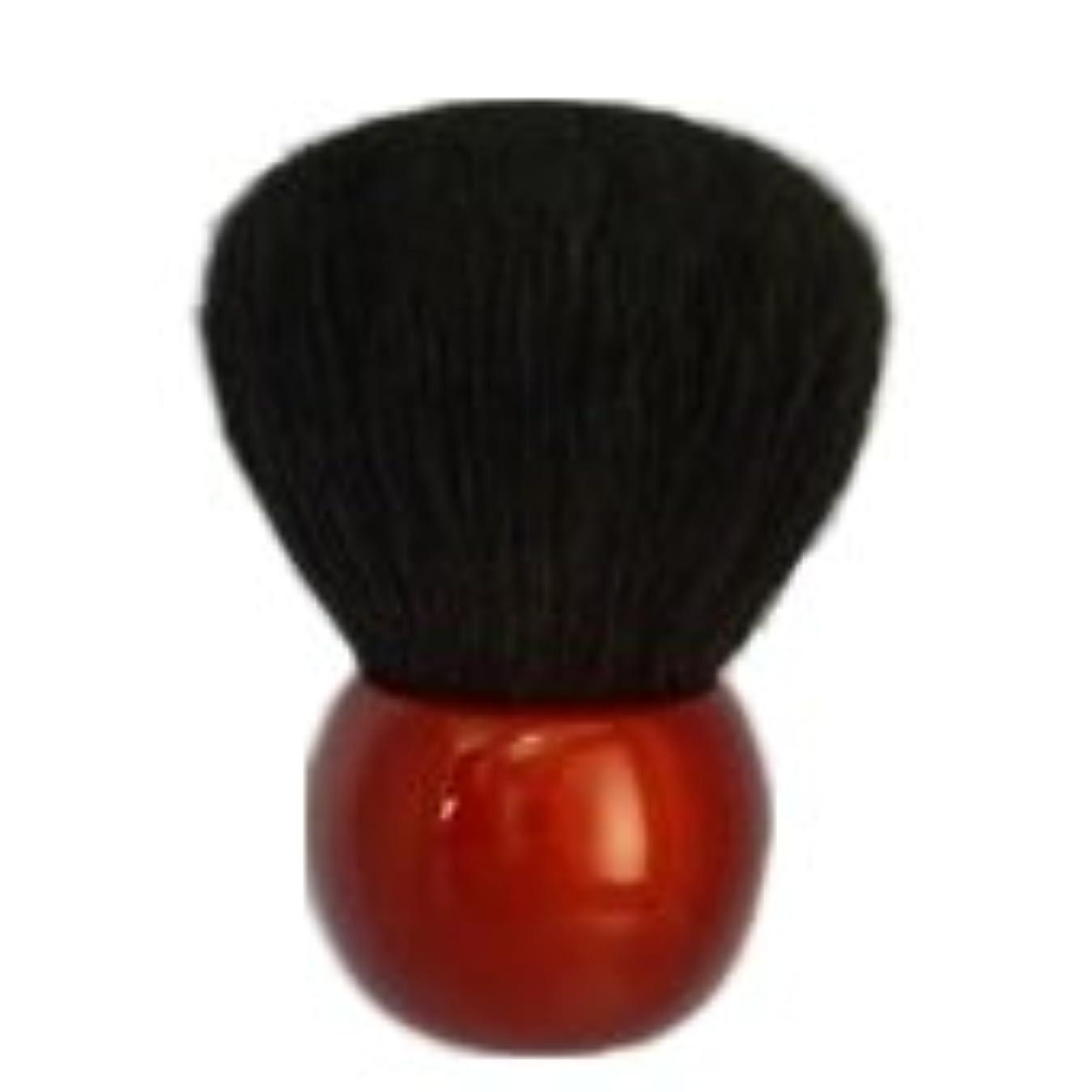 テープ不幸ガイダンスパウダーブラシ ダルマ  高級山羊 /熊野筆/宮尾産業化粧筆(メイクブラシ) MA-1