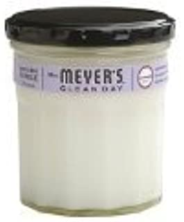 Mrs. Meyer`s Clean Day Soy Candle, Lavender, 7.2-Ounce Glass Jars (Pack of 6)