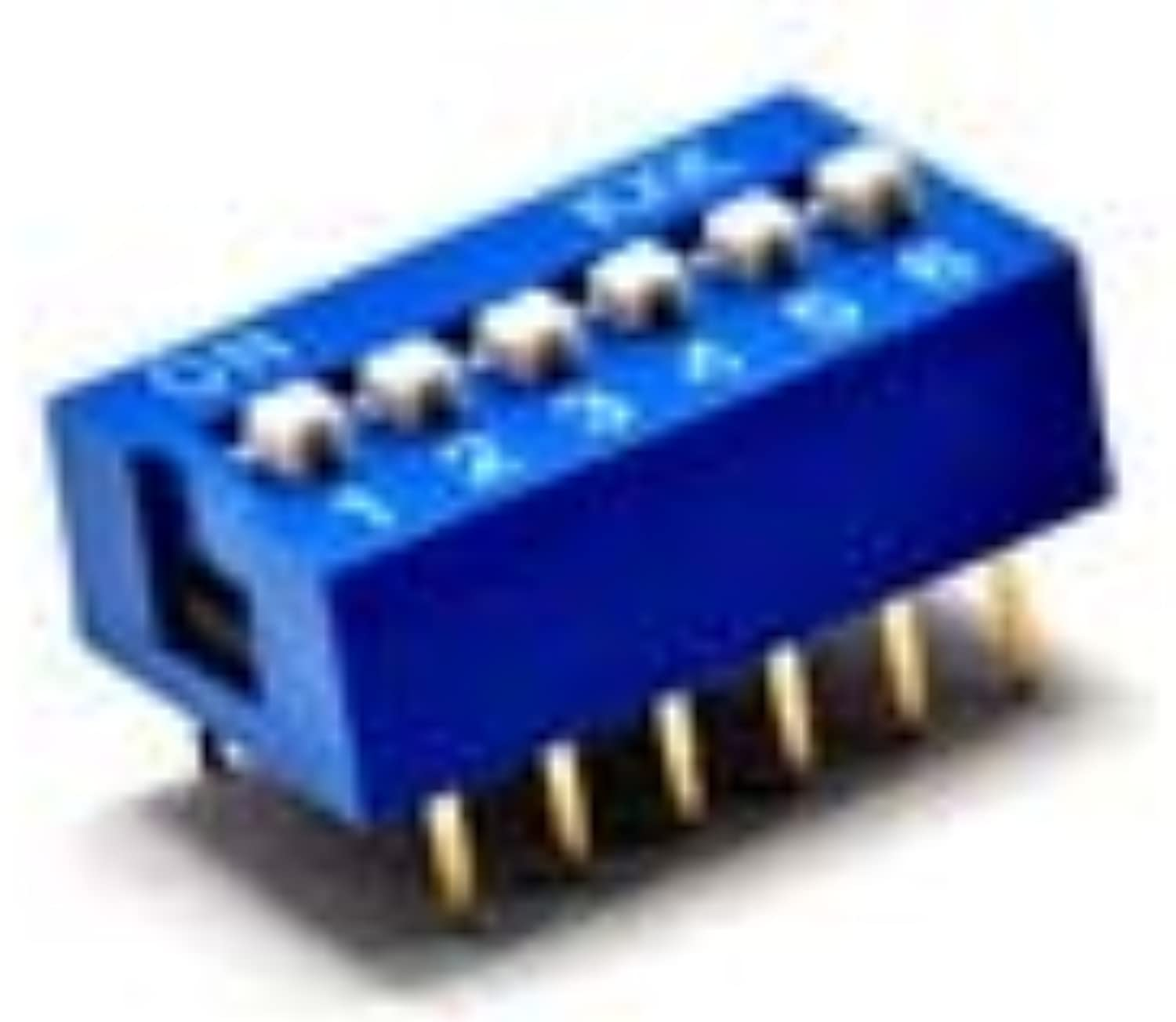 6P DIP Switch, dial Switch, Toggle Switch, Pitch 2.54MM  (color  blueee)