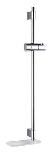 Mira 2.1703.017Beat Slide bar–bianco/cromo, argento, 2.1703.018