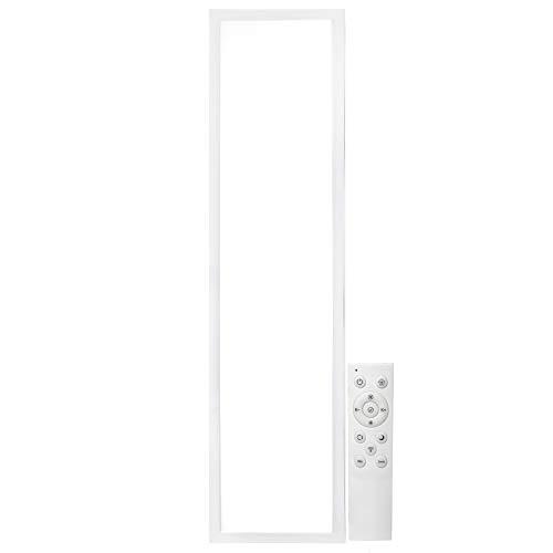 Greenice | Panel LED 120x60Cm Marco Blanco Mando a Distancia (Intensidad-CCT) 72W 30.000H