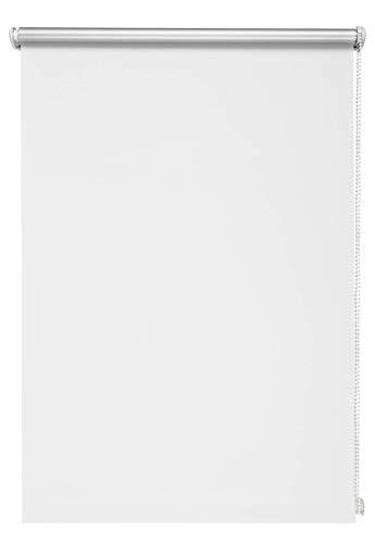Thermo-Rollo Weiß 70x210 cm ohne Bohren Verdunkelungsrollo Seitenzugrollo Klemmrollo Blackout Silberbeschichtung