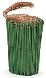 4 Green Wooden Copper Wired Picks Florist Wood Stakes Floral Bows Crafts 25ct