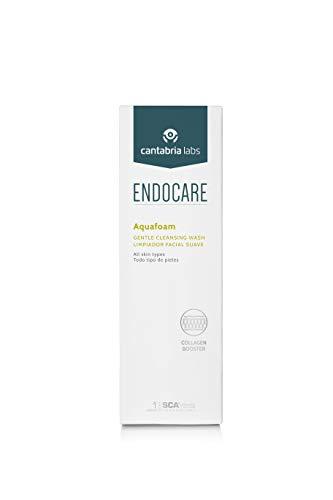 Endocare Essential Aquafoam - Limpiador Facial Micelar en Espuma, Elimina Impurezas y Puntos Negros, Exfoliante Suave, Hidratante, para Rostro, 125 ml