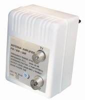 MANAX Antennenverstärker |Stecker-Verstärker |47-862 MHz |Verstärkung: 20 dB regelbar: 0-10 dB