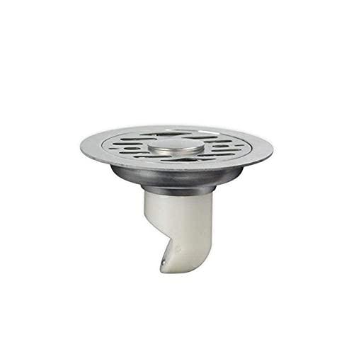 Desagüe de piso 1pc 11cm plástico autoadhesivo e inodoro desagüe de piso lavadora de doble uso baño de acero inoxidable desagüe del piso tapa del tapón del fregadero