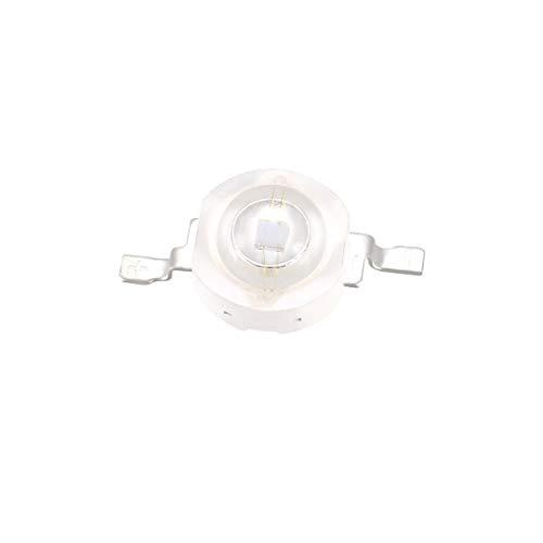sourcing map UV LED Chip ultraviolettes Licht emittierende Diode SMD COB Licht Lampe Birne lila 10 Stück 365-370nm 3W