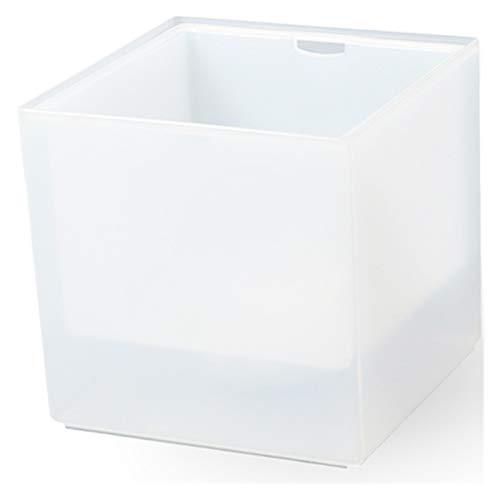 YIBANG-DIANZI Cubo de Hielo Cuadrado 3.5L LED Cubo de Hielo Doble Cáscara del Enfriador de Vino Color Cambio de Color Champagne Bebida Rack Bar/Home/Fiesta 3 * Baterías AAA para Fiestas Familiares