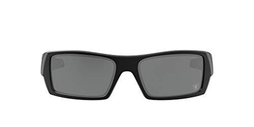 Oakley OO9014 Gascan NFL 2020 Collection Las Vegas Raiders, negro mate/negro Prizm, 60 mm