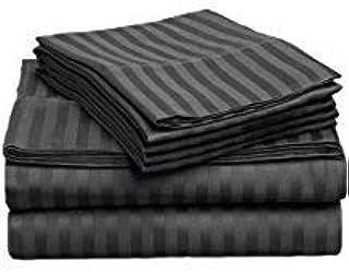Funda nórdica de 100 % algodón egipcio de 1100 hilos, color gris ...