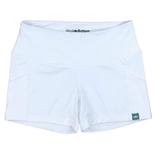 Wodbottom Women's Spandex Booty Shorts - WOD Athletic Shorts 3.5'...