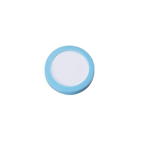 POPETPOP- Aquarium CO2 Diffusor Zerstäuber Reaktor Verfeinerung Keramik Aquarium Wasserpflanze Kohlendioxid Ersatzscheibe Scheibe (19 MM)