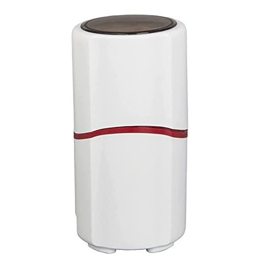 Molinillo de café eléctrico, 40 g de Gran Capacidad de Acero Inoxidable de Acero Inoxidable Grano de café, 150W, Capacidad, Almacenamiento de Cable, Compacto portátil para Granos de café, Especias