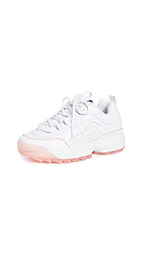 Fila Mujer Disruptor II Ice Leather Synthetic White