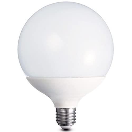 PATABIT Lampadina Led E27 Luce Naturale Globo 4000K Luminosa | Lampada Led E27 Globo Attacco E27 Luce Naturale 120x158 mm Durata 15000H 2400 lumen Alta Potenza (Globo 24W 4000K)
