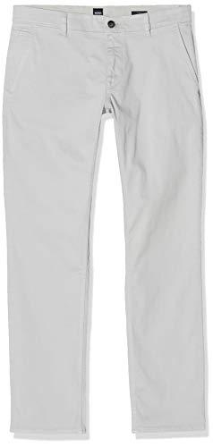 BOSS Herren Schino-Slim D Hose, Silber (Silver 43), W38/L34(Herstellergröße: 3834)