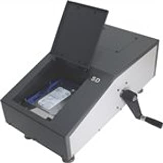 Hard Drive Degausser. Powerful 12,000 Gauss (1.2 Tesla) magnetic field remove data permanently from all ATA, SCSI, SAS, SATA, FC hard disk & tape in 1 second! No Electricity or Maintenance required.
