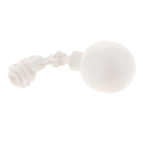 YELLAYBY Válvula electromagnética eléctrica 1/4 '' Mini Ajustable automático de Flotador Válvula...