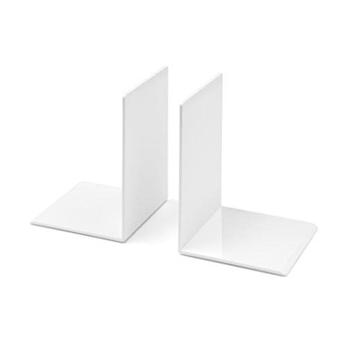 Osco Kunststoff-Buchstützen weiß
