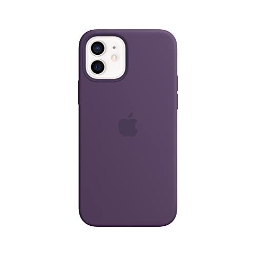 Apple SilikonHülle mit MagSafe (für iPhone 12 | 12 Pro) - Amethyst