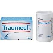 Traumeels Tablettem bei akuten Beschwerden des Bewegungsapparates wie Verstauchung oder Prellungen, chronische Erkrankungen oder frische Wunden sowie bei unreiner Haut, Spar-Set 3x50Tabletten