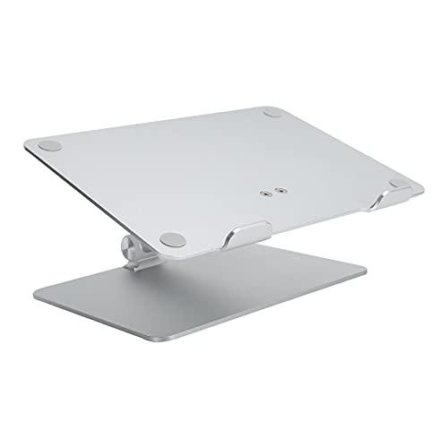 Soporte ajustable para computadora portátil, elevador para computadora portátil de aleación de aluminio para escritorio, soporte para computadora portátil ergonómico para escritorio, soporte para comp