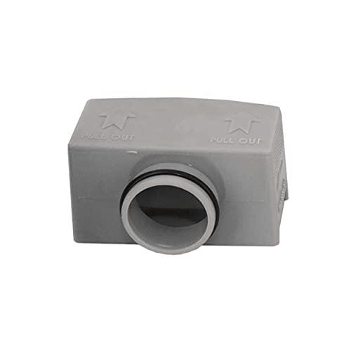 VILSTEIN Siphon mit Geruchsstop für viele Duschrinnen mit 40mm Ablauf