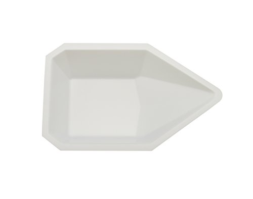 Pack of 500 Polystyrene Heathrow Scientific HD1420C Standard Weighing Boat 140 mm Length x 140 mm Width x 22 mm Depth White