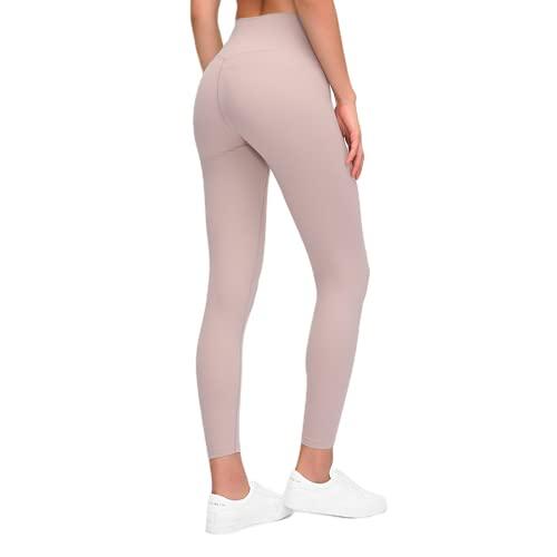 QTJY Pantalones de Yoga Ajustados de Cintura Alta para Mujer, Ejercicio de Gimnasia, Ejercicio físico, Medias de Secado rápido sin Costuras KS