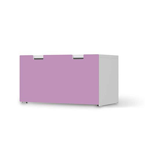 creatisto Kinder Möbel Klebefolie - passend für IKEA Stuva Banktruhe I Tolle Kinderzimmer Einrichtung - Möbelsticker für Kinder- und Babyzimmer I Design: Flieder Light