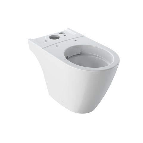 Keramag Tiefspül-WC iCon, spülrandlos, 6 l, bodenstehend KeraTect weiß(alpin), 200460600