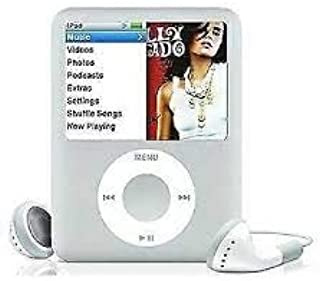 M-Player iPod Nano 4GB Silver 3rd Generation (Packaged in White Box with Generic Accessories)…