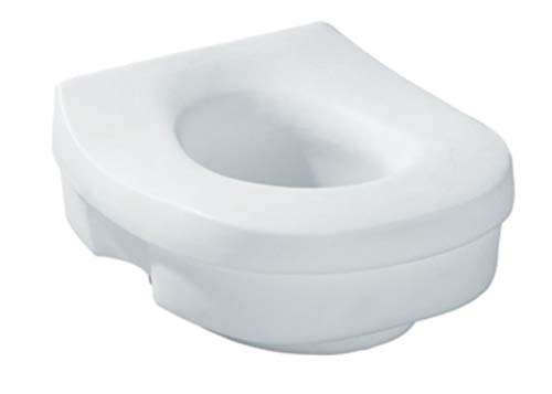 Platinum Health Premium Raised Toilet Seat- 5 inch. Fits Most Round and Elongated Toilets.
