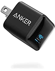 Anker PowerPort III Nano 20W (PD 充電器 20W USB-C 超小型急速充電器)【PSE技術基準適合/PowerIQ 3.0 (Gen2)搭載】 iPhone 13 / 13 Pro iPad Air(第4世代) Android その他 各種機器対応 (ブラック)