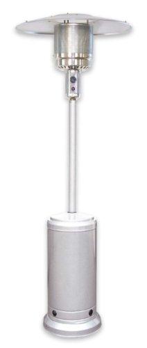 Stufa per Esterno a Gas Butano ACCIAO Inox/CROMATA con Ruote + Telo di Copertura - MOD. Fungo