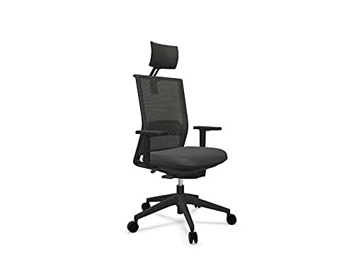 Actiu Stay cabezal silla de ordenador y oficina Carbon Black   GAMA TOP