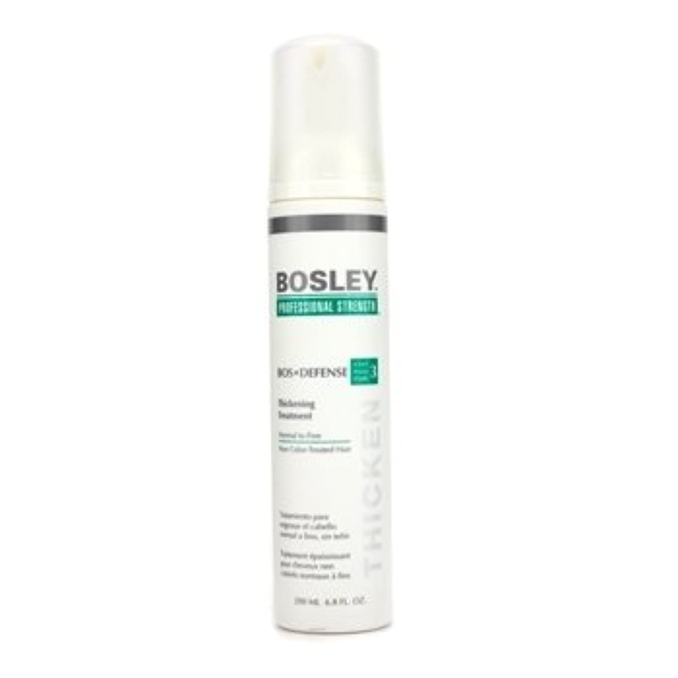 反論食堂サンダルボスリー Professional Strength Bos Defense Thickening Treatment (For Normal to Fine Color-Treated Hair) 200ml/6.8oz並行輸入品