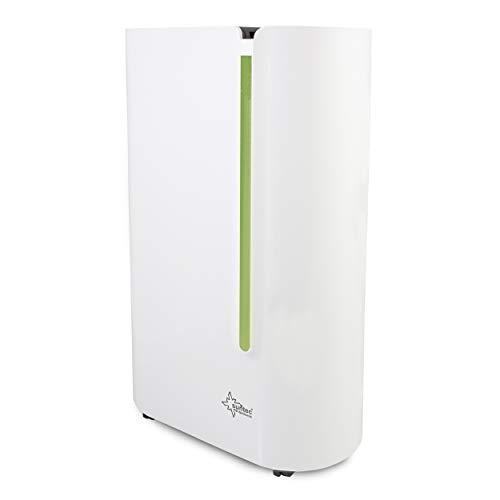 SUNTEC Dryfix 20 Lumio Luftentfeuchter – für Räume bis 150 M³ (ca 65 m2) | Raumentfeuchter mit 20 l/Tag Entfeuchtung | Entfeuchter elektrisch inkl. Luftreiniger Funktion + mobile Wäschetrocknung