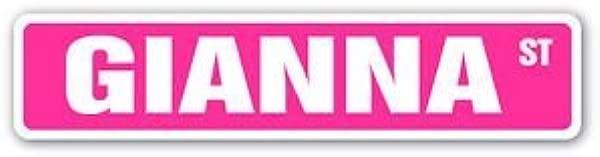 吉安娜街道贴纸标牌儿童房间门礼物儿童男孩女孩墙壁入口贴纸图形个性化定制贴纸图形
