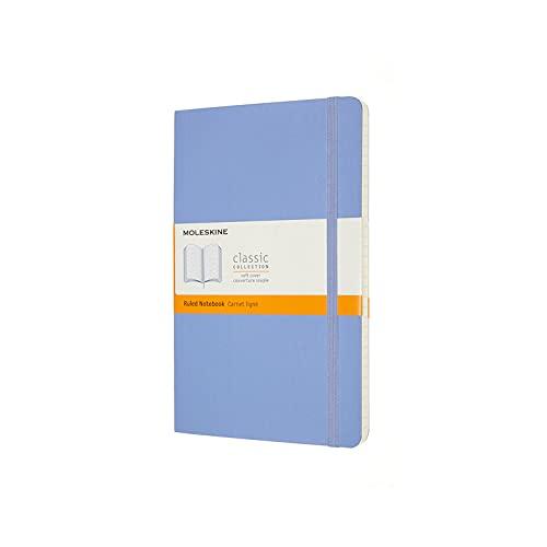 Moleskine - Cuaderno Clásico con Hojas de Rayas, Tapa Blanda y Cierre con Goma...